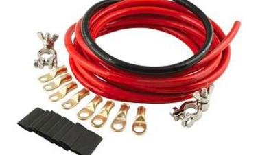 Heavy-duty power leads (6GA-4/0) and Battery Cables